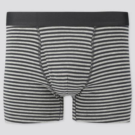 Men Supima Cotton Striped Boxer Briefs