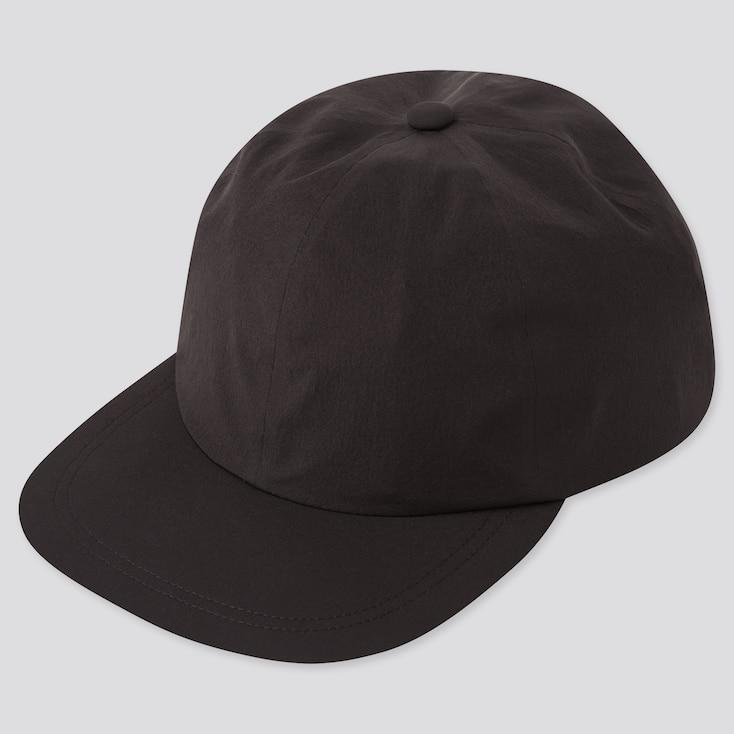 Uv Protection Sports Cap, Black, Large
