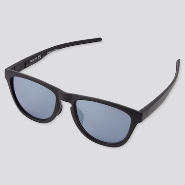 Sports Wellington Sunglasses, Dark Gray, Medium