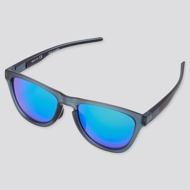 Sports Wellington Sunglasses, Navy, Medium