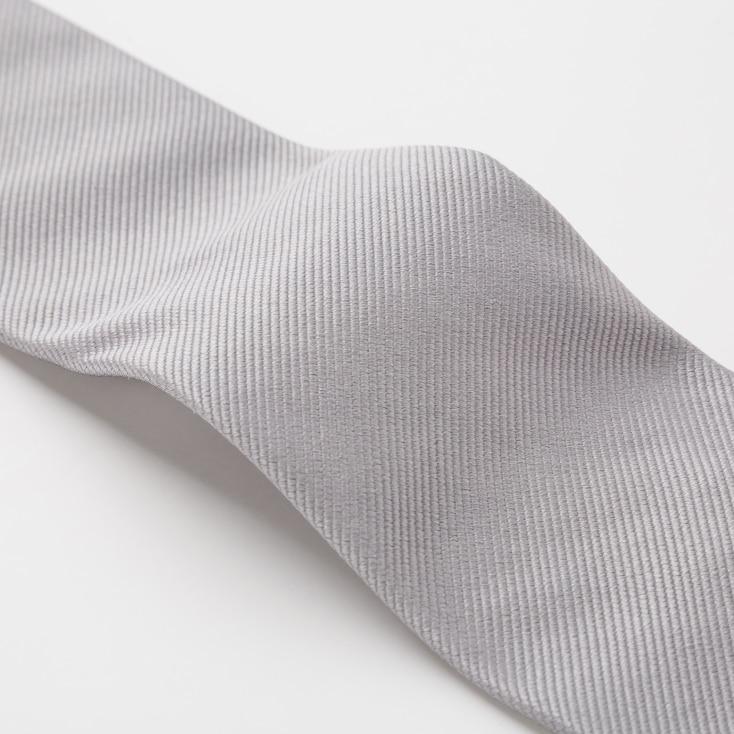 Men Silk Tie, Blue, Large