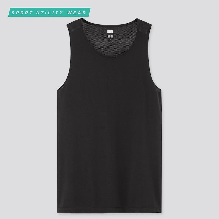 Men Dry-Ex Tank Top, Black, Large