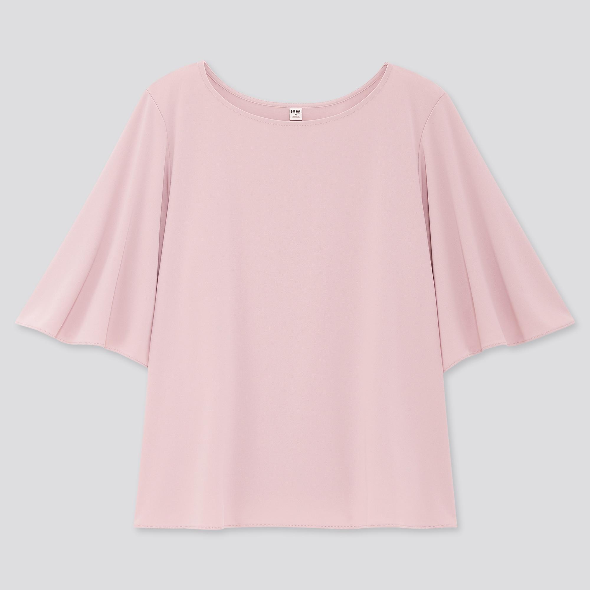 women crepe jersey half-sleeve t-shirt