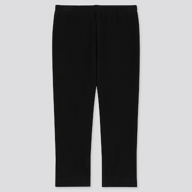 Baby Ankle-Length Leggings, Black, Medium