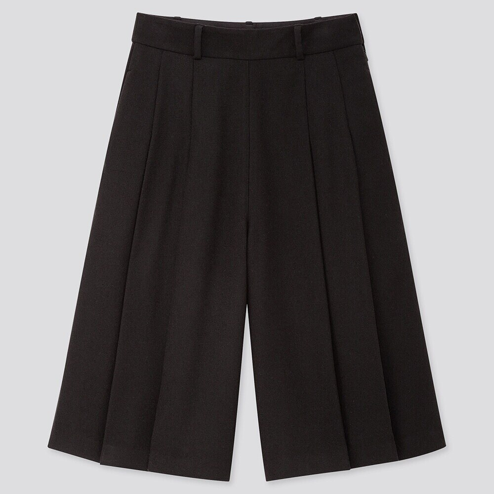 WOMEN HIGH-WAISTED CULOTTES PANTS