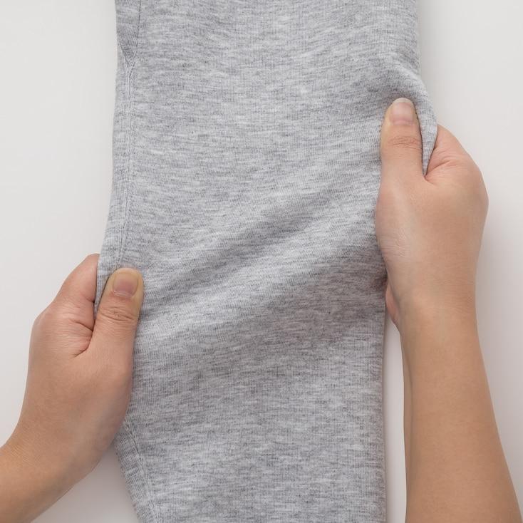Men Dry Stretch Long-Sleeve Sweatshirt, Gray, Large