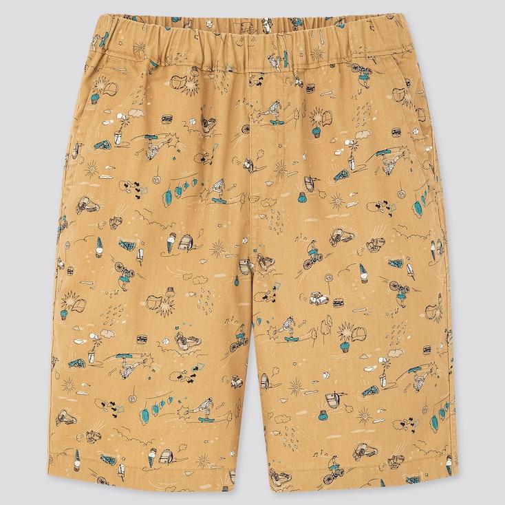 Kids Easy Shorts, Beige, Large