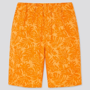 Kids Easy Shorts, Orange, Medium