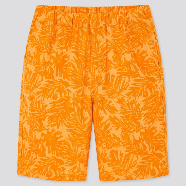 Kids Easy Shorts, Orange, Large