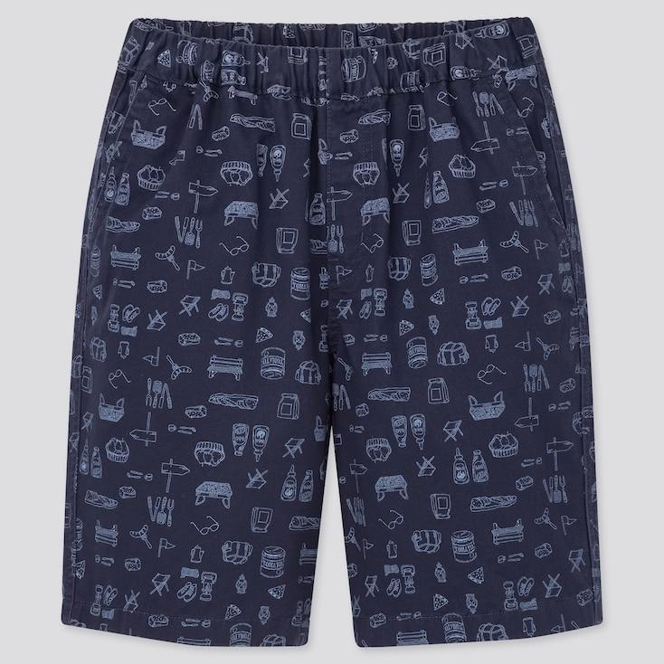 Kids Easy Shorts, Navy, Large