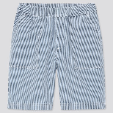 Kids Striped Easy Shorts