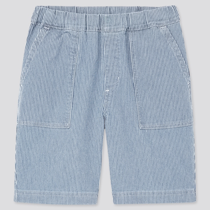 Kids Easy Shorts, Blue, Large