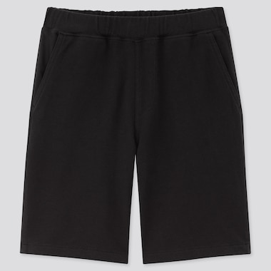 Kids Washed Jersey Easy Shorts, Black, Medium
