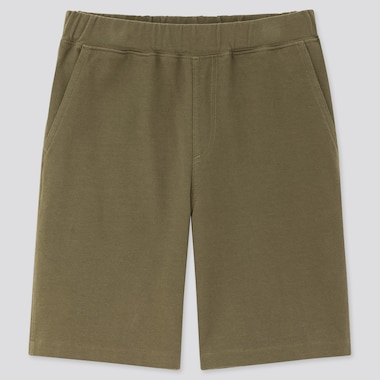 Kids Washed Jersey Easy Shorts, Olive, Medium