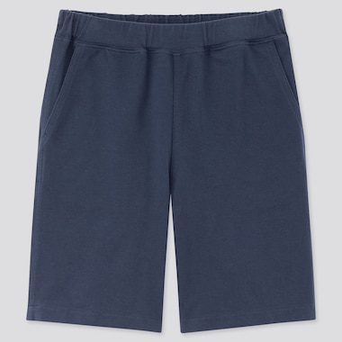 Kids Washed Jersey Easy Shorts, Blue, Medium