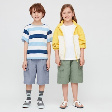 Kids Wide Fit Cargo Shorts