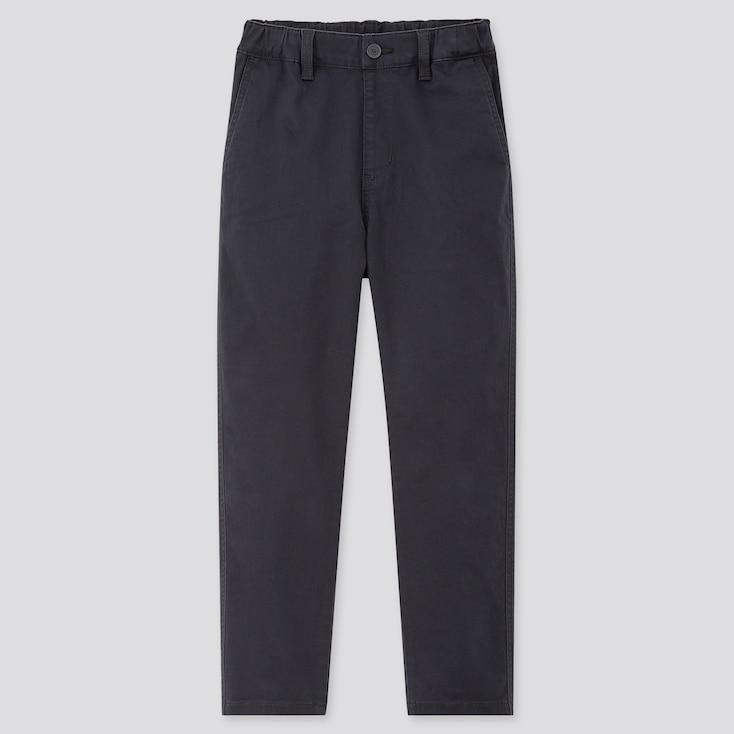Kids Ultra Stretch Regular-Fit Chino Pants, Navy, Large