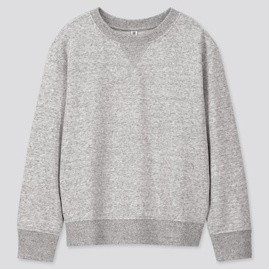 Kids Sweatshirt, Gray, Medium