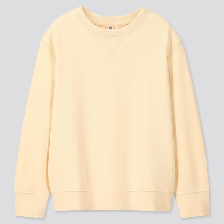 Kids Sweatshirt, Natural, Large