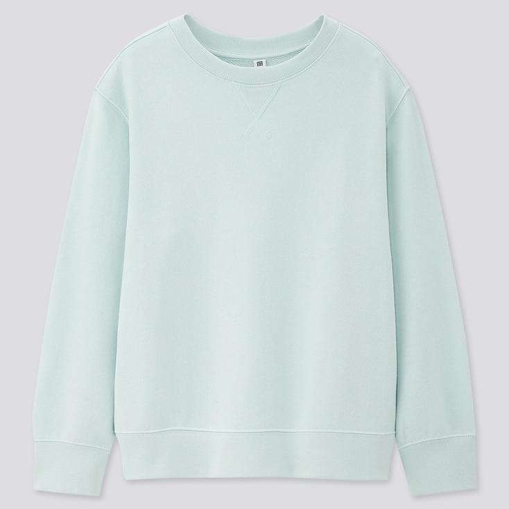 Kids Sweatshirt, Light Blue, Large