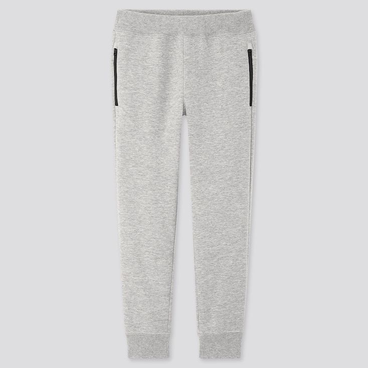 Kids Dry Stretch Sweatpants, Gray, Large