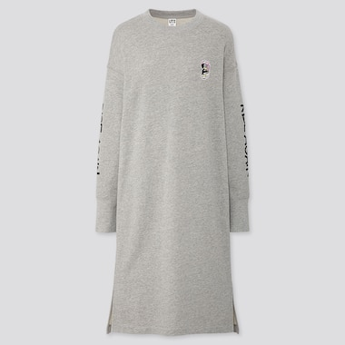 WOMEN RISE AGAIN BY VERDY UT GRAPHIC LONG SLEEVED DRESS