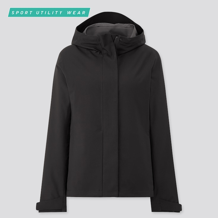 Women Blocktech Parka, Black, Large