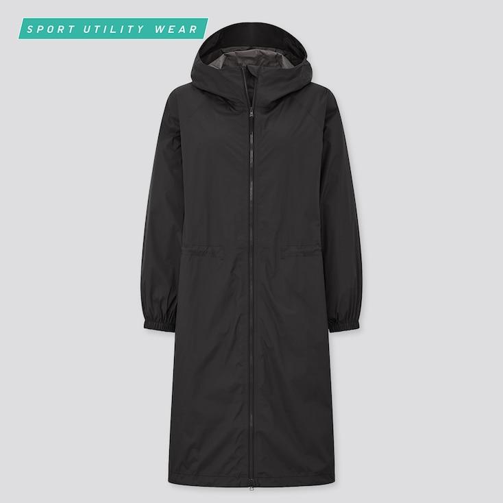 Women Light Blocktech Uv Protection Coat, Black, Large