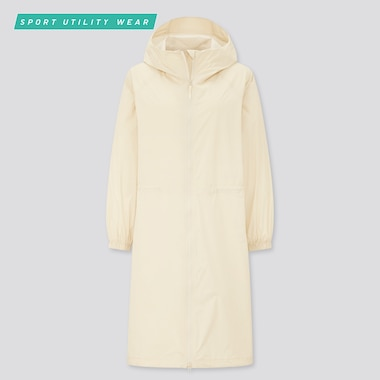 Women Light Blocktech Uv Protection Coat, Natural, Medium