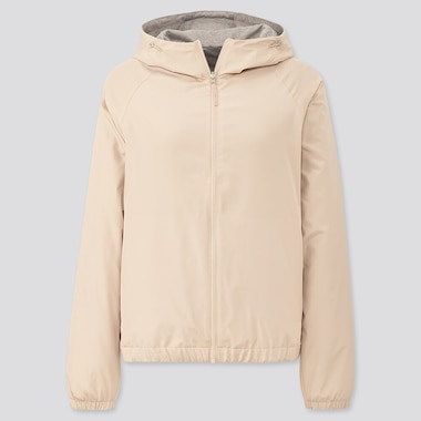 Women Reversible Parka, Natural, Medium