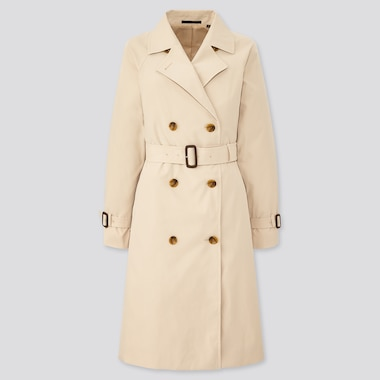 Women Relaxed Fit Trench Coat