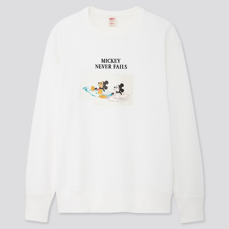 Disney Stories Long-Sleeve Sweatshirt, Off White, Large