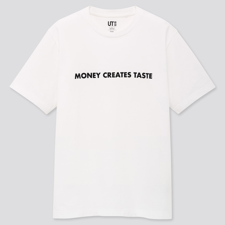 Text Messages Ut Jenny Holzer (Short-Sleeve Graphic T-Shirt) (Online Exclusive), White, Large