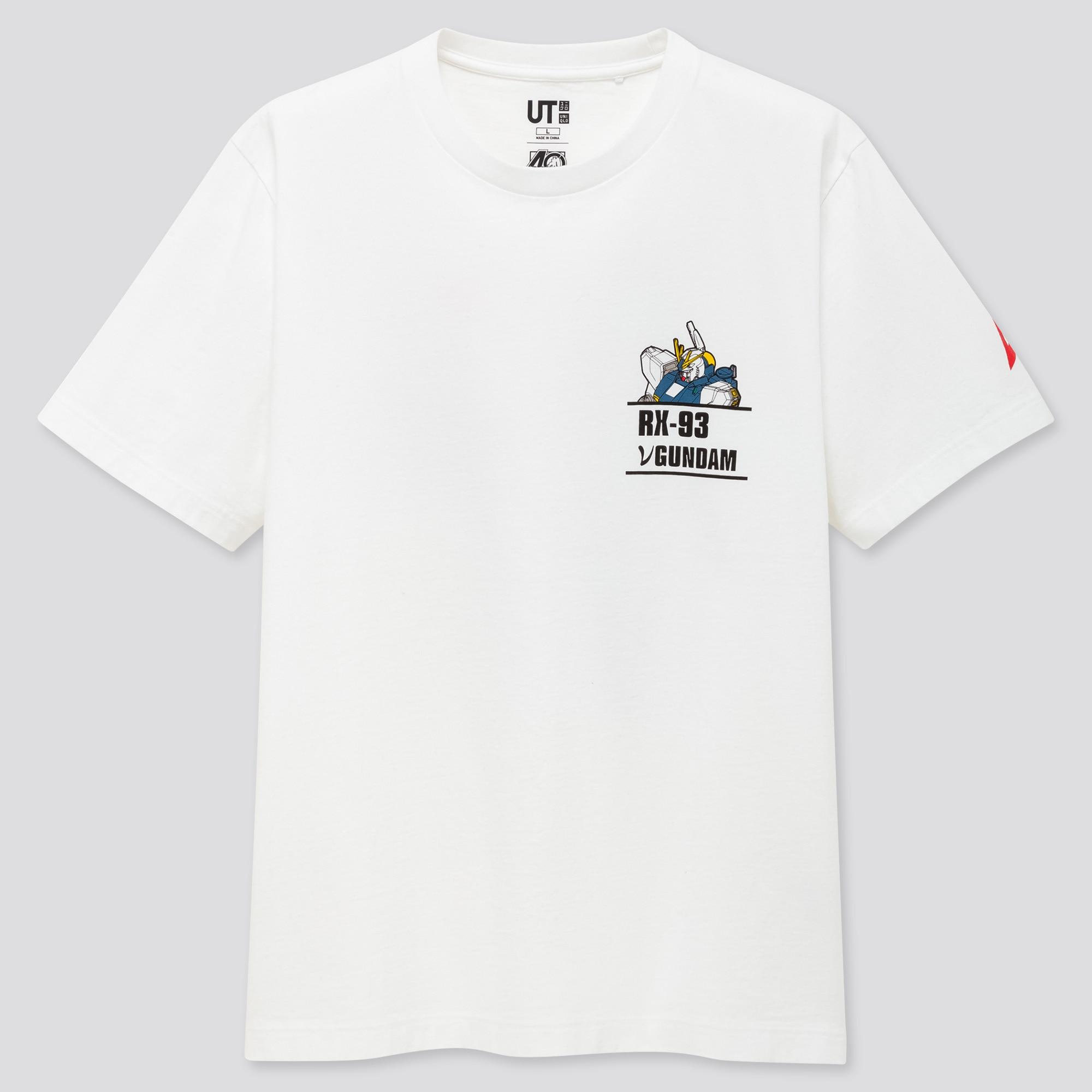 Men Gunpla 40th Anniversary UT Graphic T-Shirt