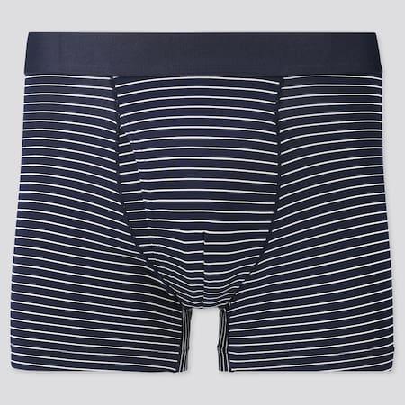 Men AIRism Striped Boxer Briefs