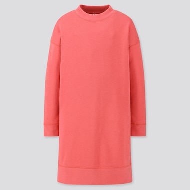 Girls Sweat Long Sleeved Dress