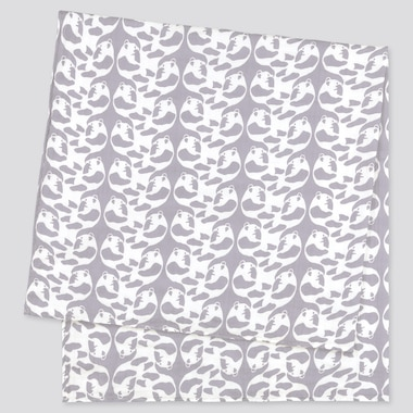 Baby Finlayson Swaddle, Gray, Medium