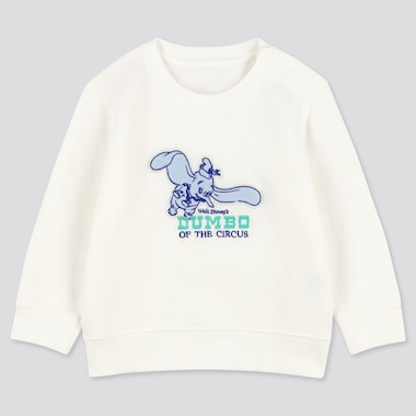 Toddler Disney Stories Long-Sleeve Sweatshirt, White, Medium