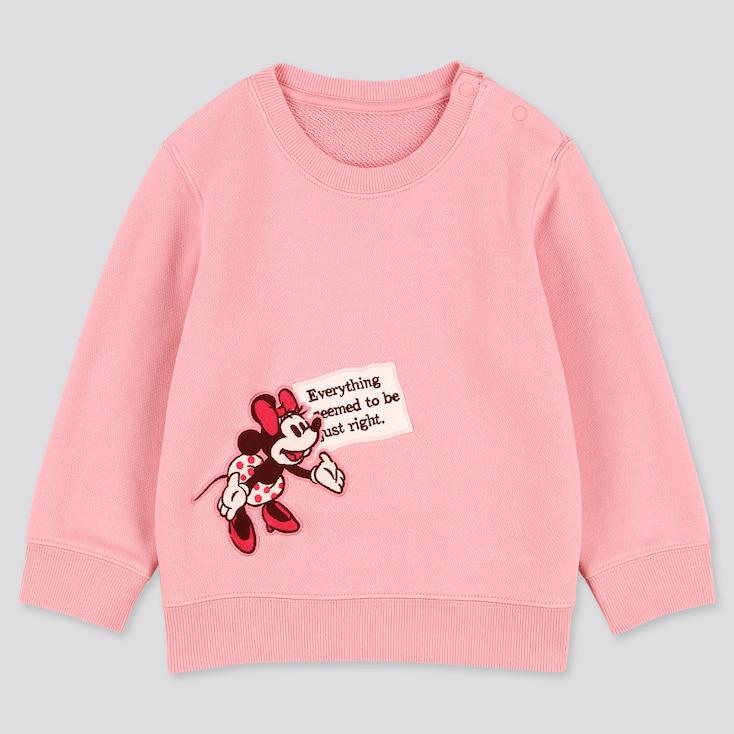 Toddler Disney Stories Long-Sleeve Sweatshirt, Pink, Large