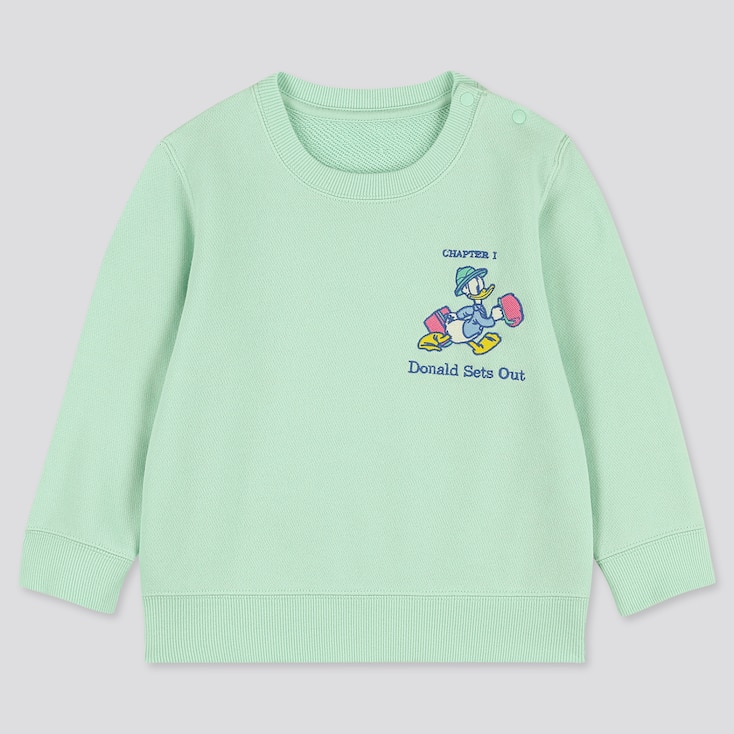 Toddler Disney Stories Long-Sleeve Sweatshirt, Green, Large