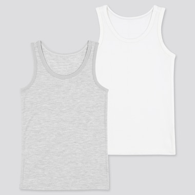 Babies Toddler AIRism Mesh Vest Top (Two Pack)