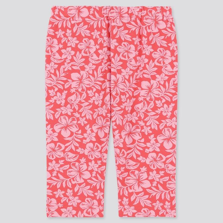 Baby Mickey Aloha Cropped Leggings, Pink, Large