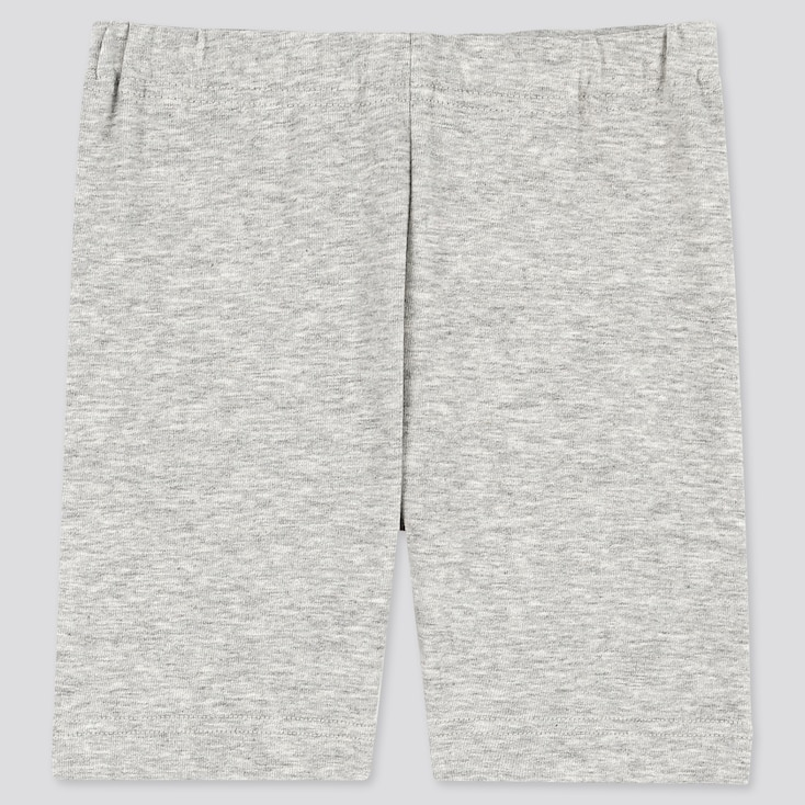 Baby Dry Half Leggings, Gray, Large