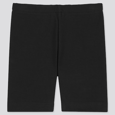 Baby Dry Half Leggings, Black, Medium