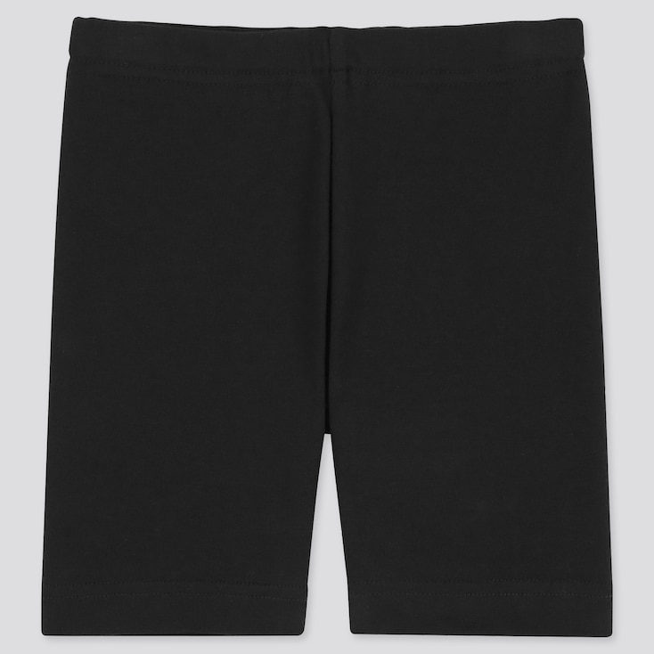 Baby Dry Half Leggings, Black, Large