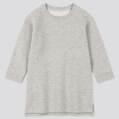 Toddler  Long-Sleeve Sweat Dress, Gray, Medium