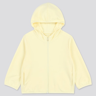 Toddler Uv Protection Long-Sleeve Hoodie, Yellow, Medium