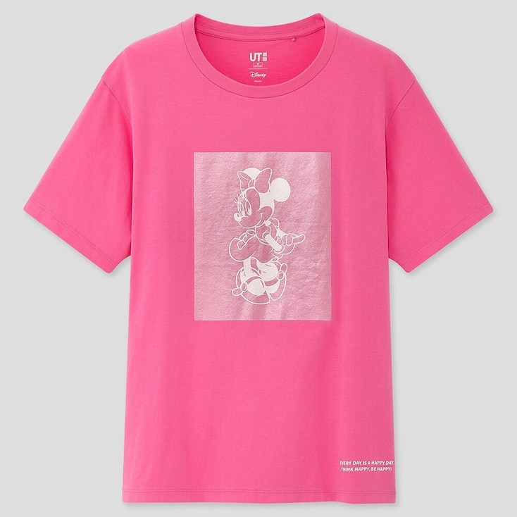 Women Fortune Disney Ut (Short-Sleeve Graphic T-Shirt), Pink, Large