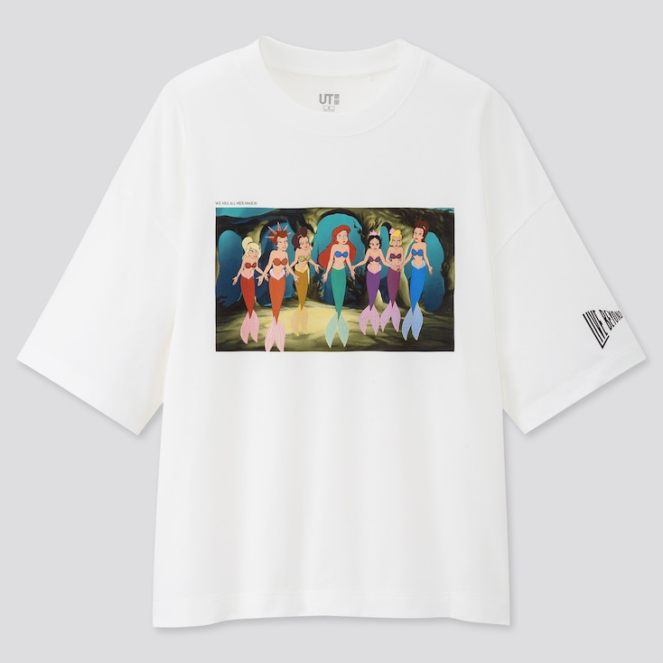 Women Disney Princesses & Villains Ut (Short-Sleeve Graphic T-Shirt), White, Large