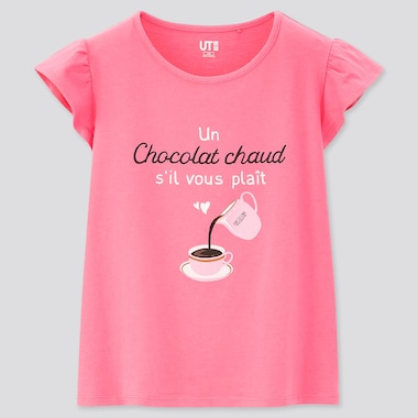 Girls The Brands Tea Time UT Graphic T-Shirt